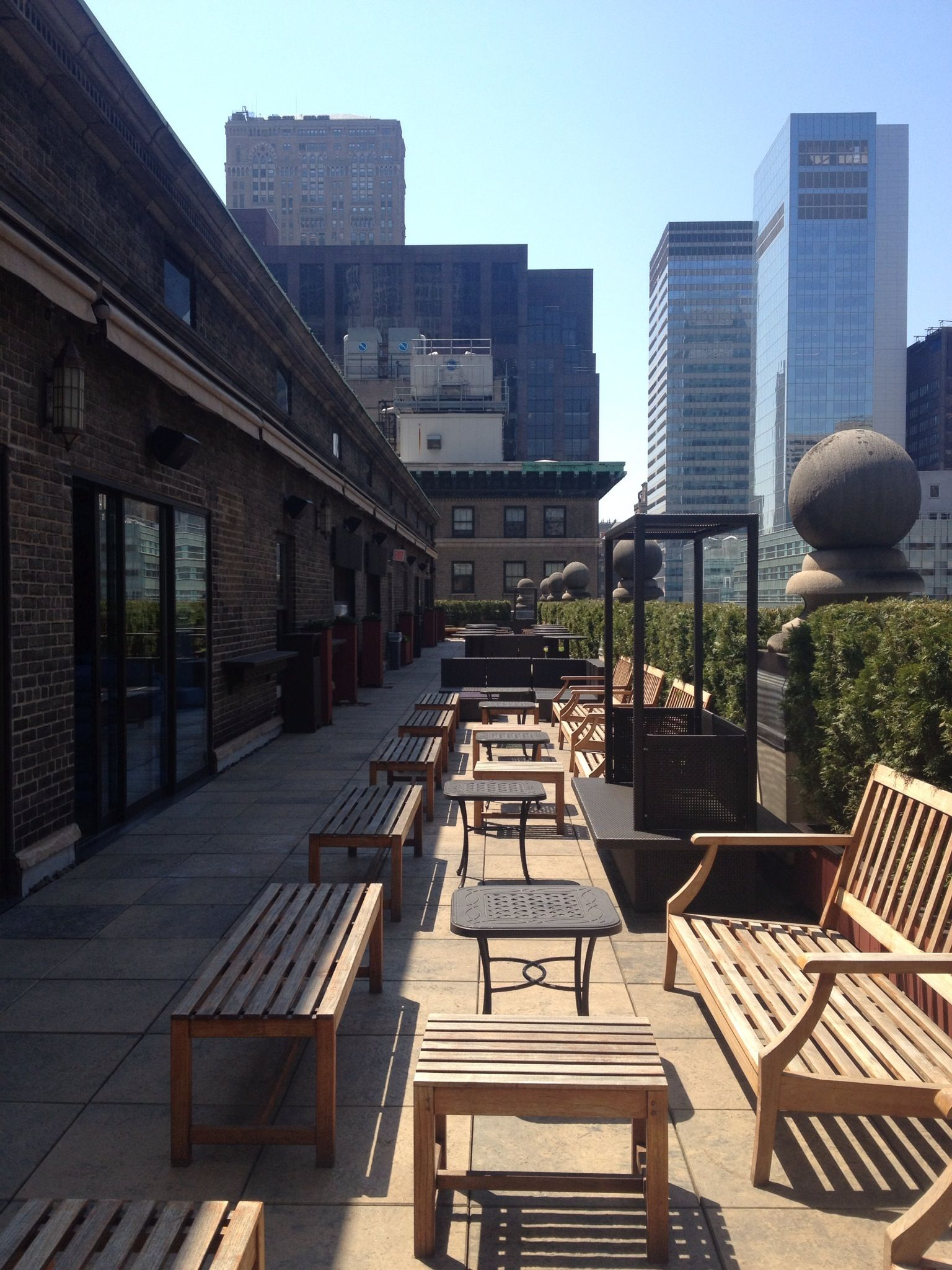 Pin By The Roosevelt Hotel New York On Mad46 Rooftop