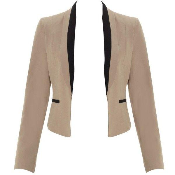 Lipsy Tuxedo Jacket ($44) ❤ liked on Polyvore