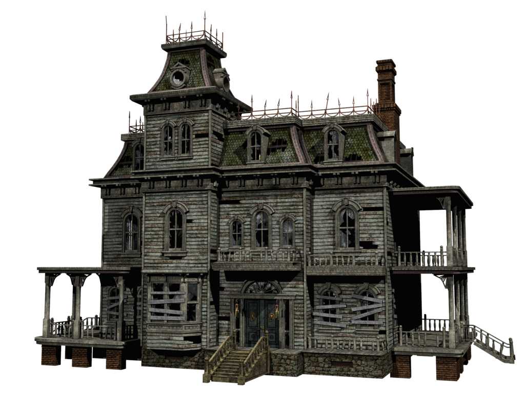 The Haunted House Haunted House Halloween House House Drawing