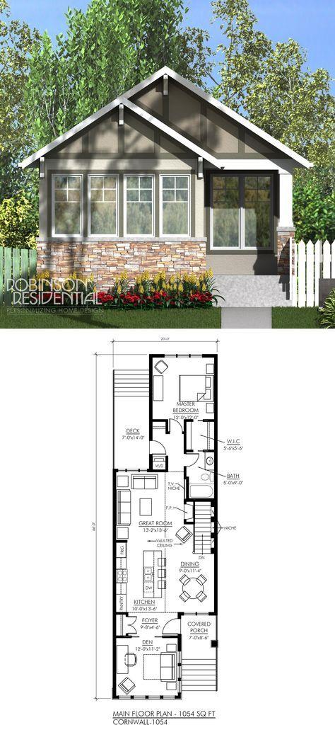 Sq ft bedroom den bath tiny house also best home plans images on pinterest construction plan rh