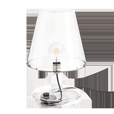 Fatboy Trans Parents Table Lamp Transparent Lamp Huge Lamp Big Table Lamps