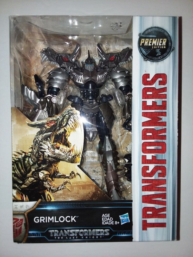 The Last Knight Premier Edition Voyager Class Grimlock Transformers