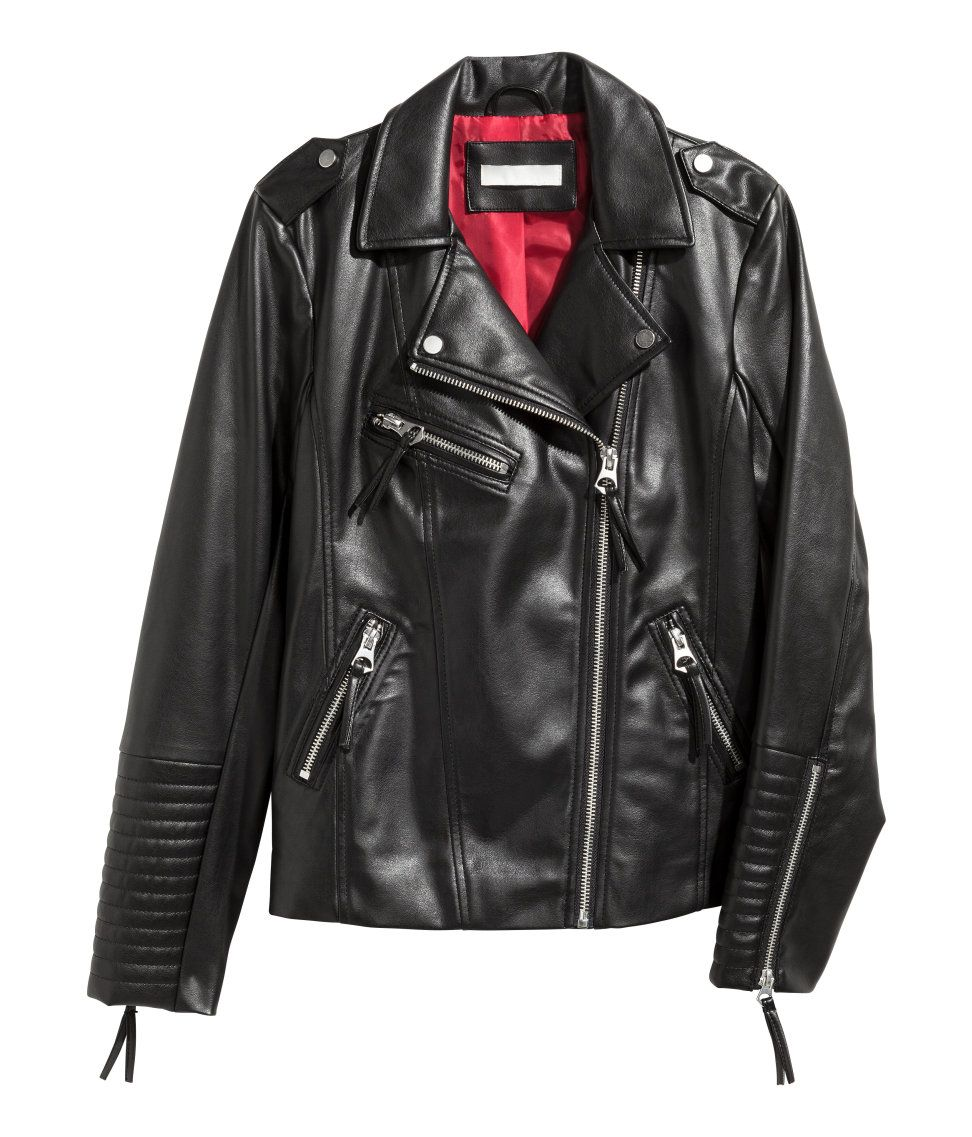 Biker Jacket Warm In H M Leather Jacket