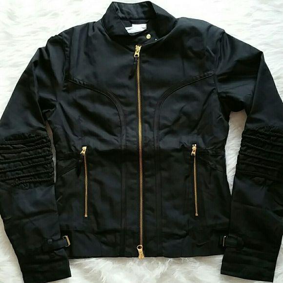 Gold nike jacket