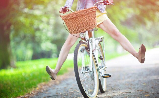 Andar mais de bicicleta... Faz bem para o corpo e para a mente!