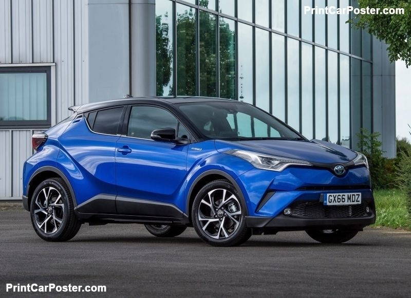 Toyota C-HR 2017 poster | Toyota, Posters and Cars