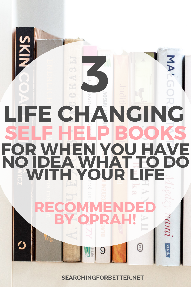 3 Books For Soul Searching (Recommended By Oprah!) is part of Self development books, Books for self improvement, Self help books, Inspirational books, Self help, Personal growth books - Ready for life changing reads  These inspiritual books come recommended by Oprah herself and are the best books for soul searching!
