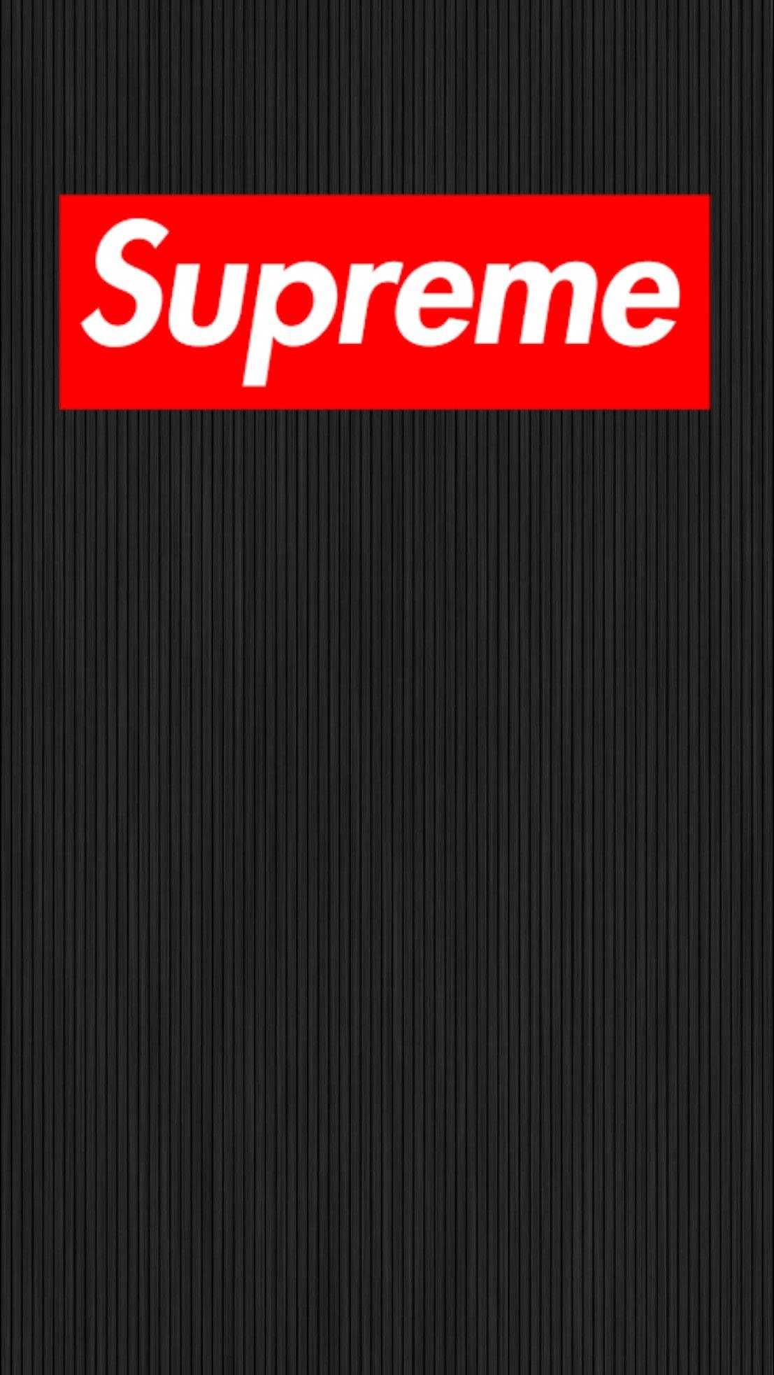 supreme android ios wallpaper black シュープリーム, Iphone