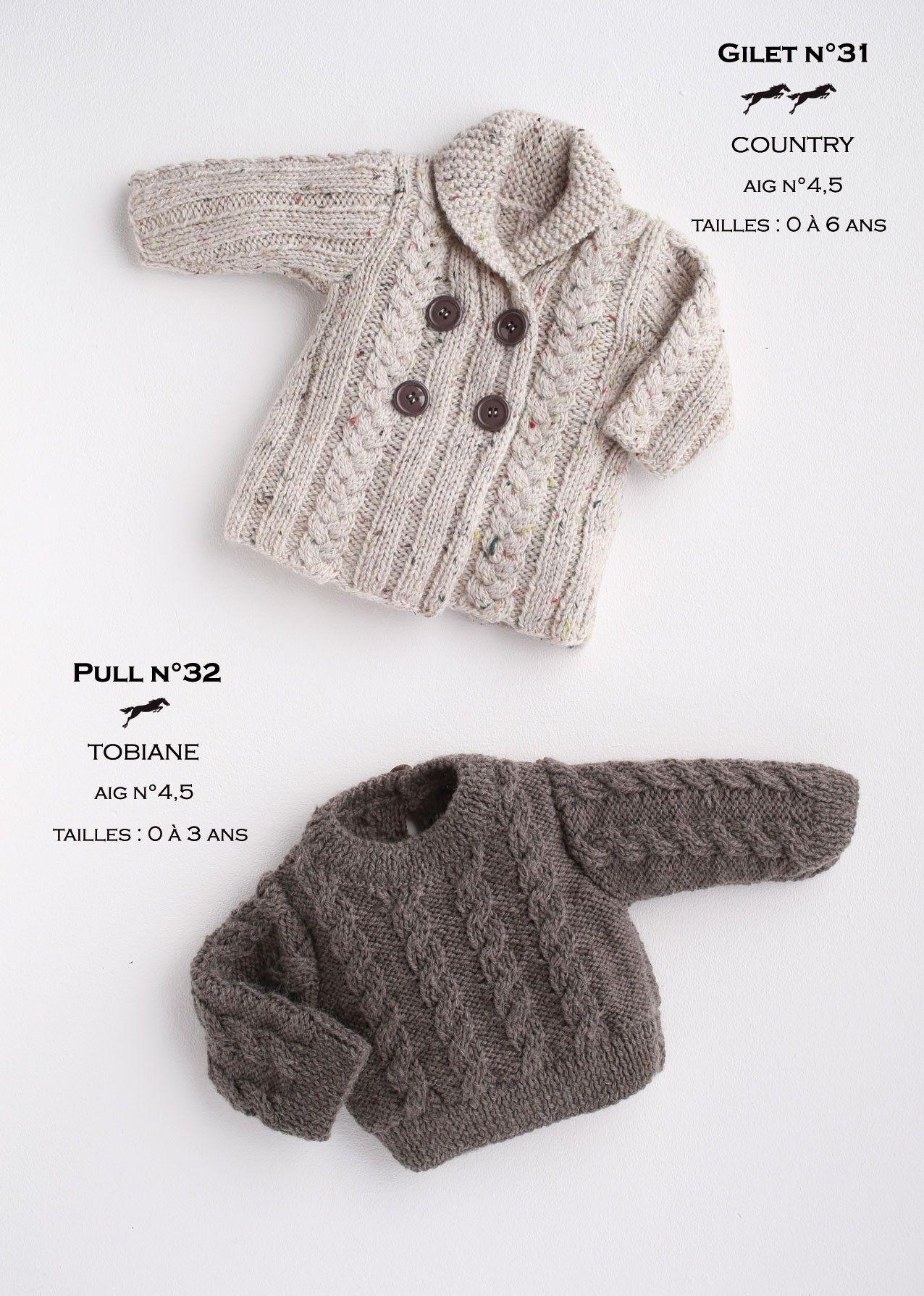 Exceptionnel Épinglé par Dominique Paupy sur Tricot bébés | Pinterest | Tricot  JJ39