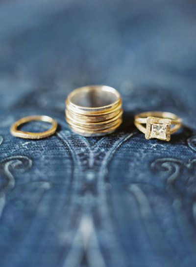 Gorgeous Wedding Rings In Gold Photography By Http Joshgruetzmacher