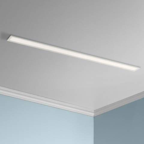 Maxim Wafer 48 Long White 4000k Led Linear Ceiling Light 47p68 Lamps Plus Long Ceiling Lights Ceiling Lights Low Ceiling Lighting