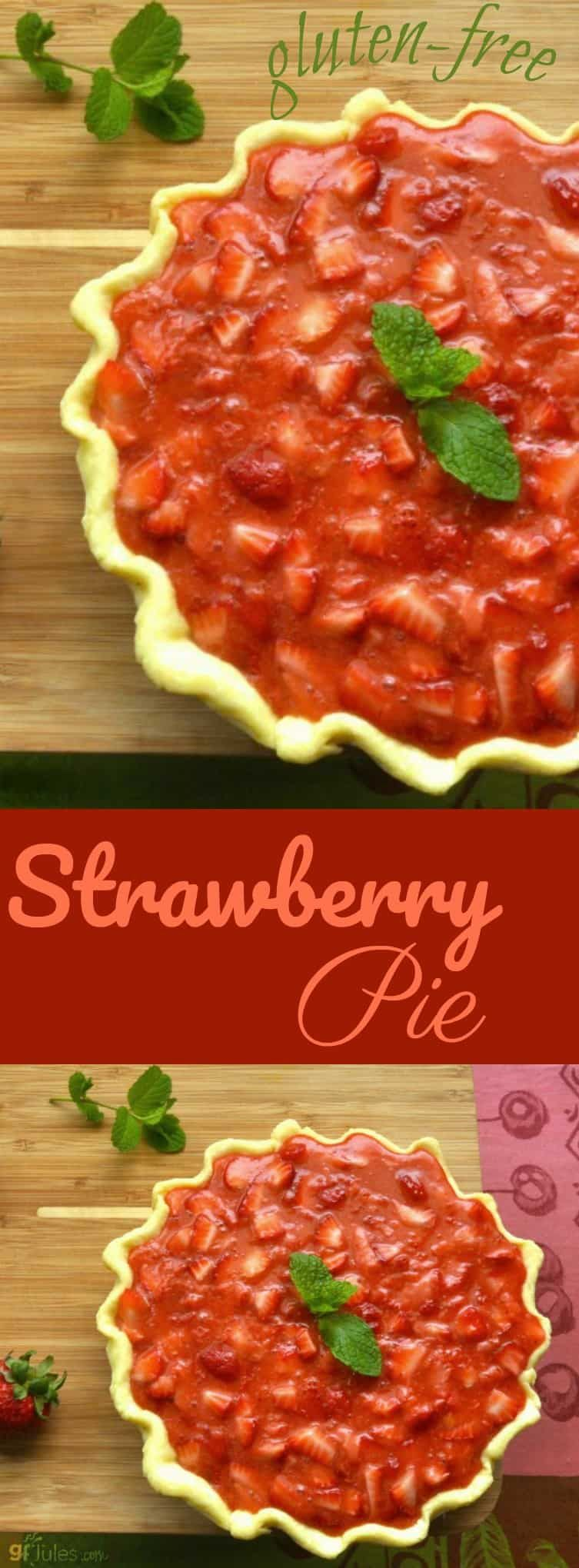 Gluten Free Strawberry Pie Recipe Pinterest Strawberry