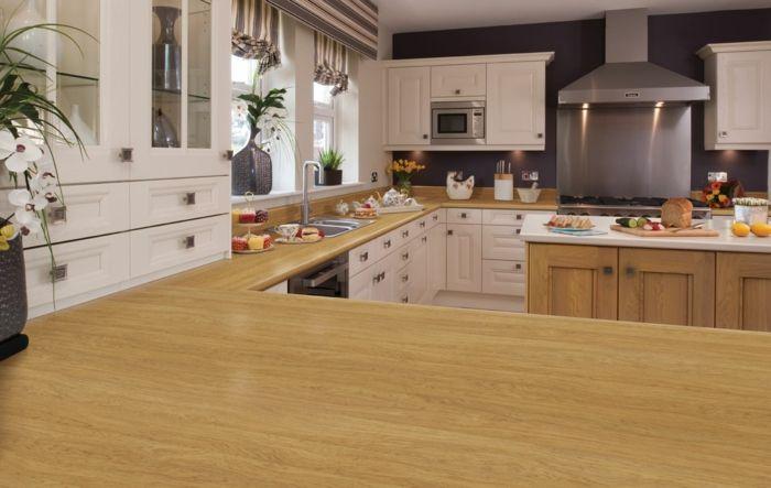 Küchenarbeitsplatten - die Vor- und Nachteile der beliebtesten