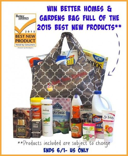 Better Homes And Garden Prize Package Giveaway