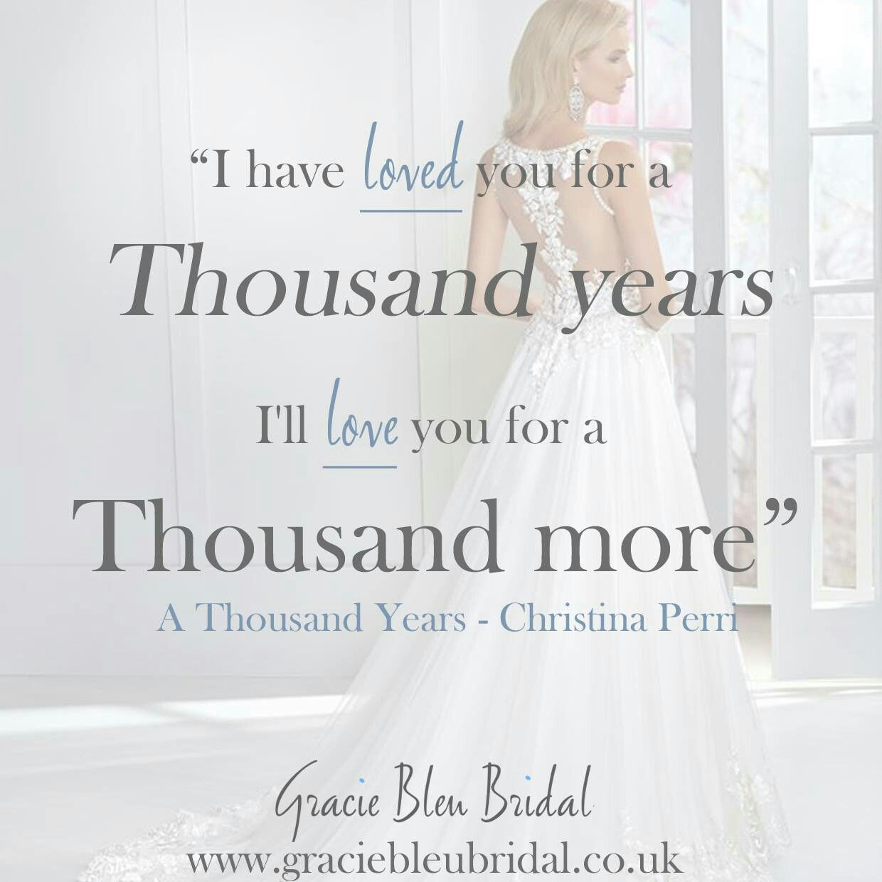 Song Lyrics: Christina Perri- Thousand Years Dress: Ronald