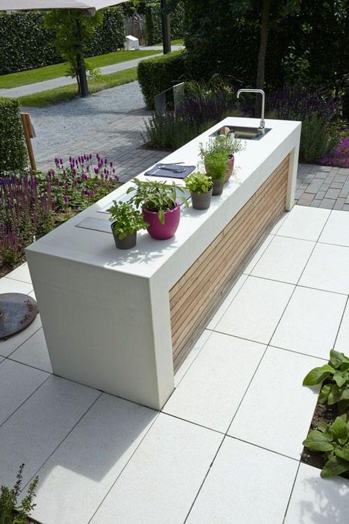 ▷ 1001 + Ideen und Bilder zum Thema Außenküche selber bauen | Pinterest