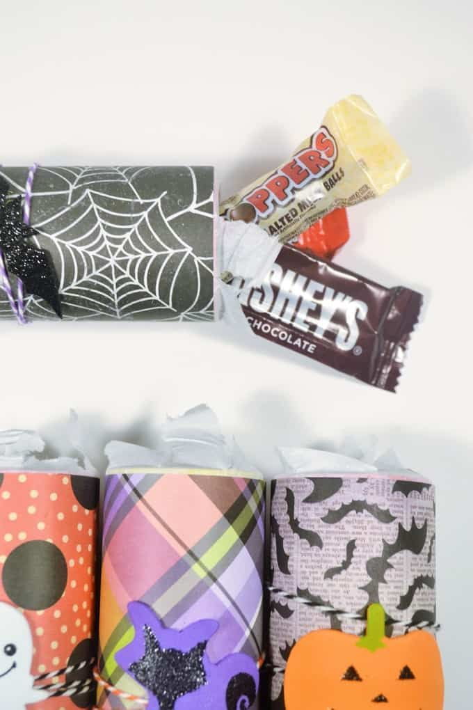 toilet paper roll halloween candy holders {with Walmart} Halloween