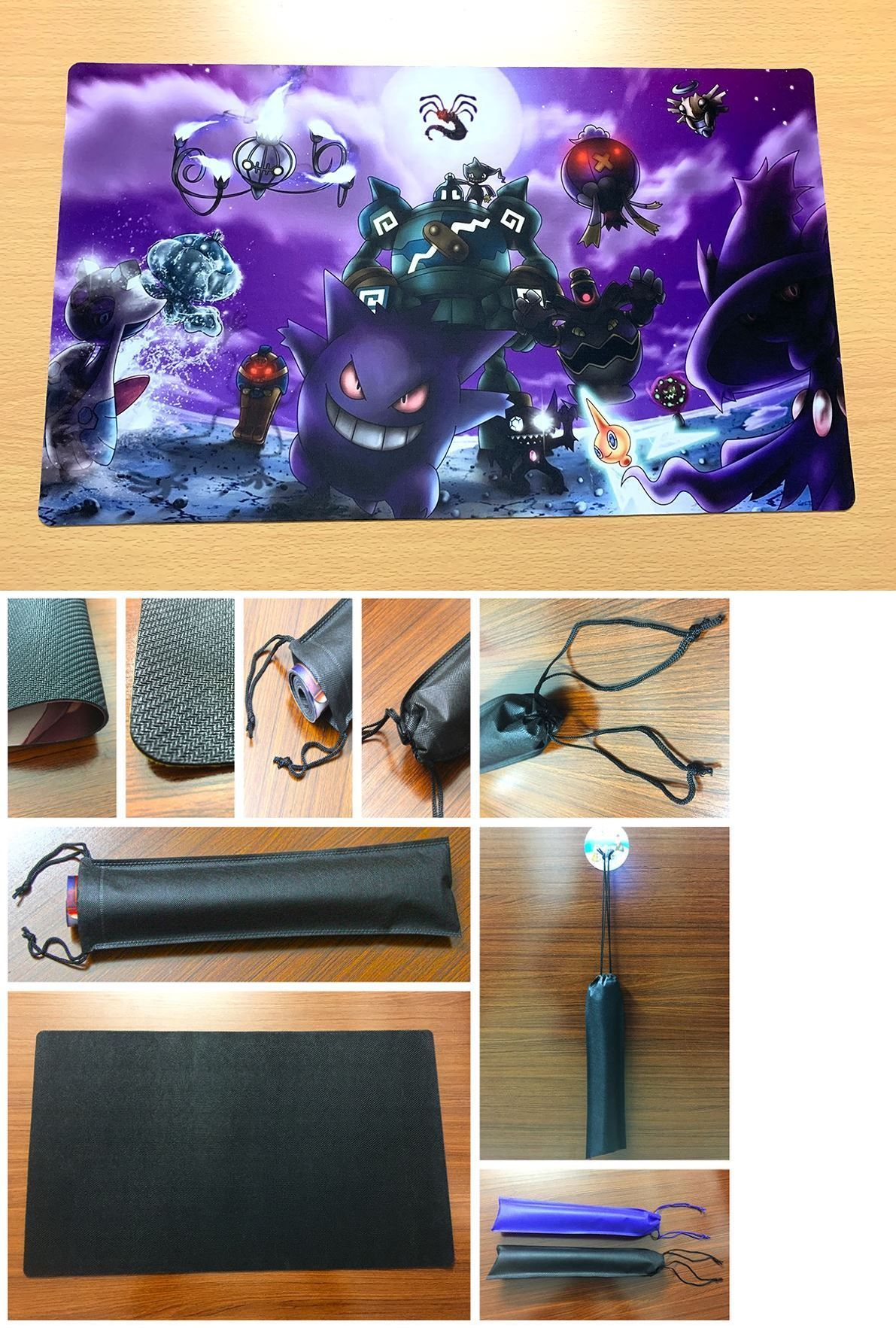 48164ec6c5b1 Other Pok mon TCG Items 2608: F1647 Free Mat Bag Custom Playmat ...