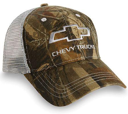 Chevy Trucks Realtree Mesh Cap Chevymall