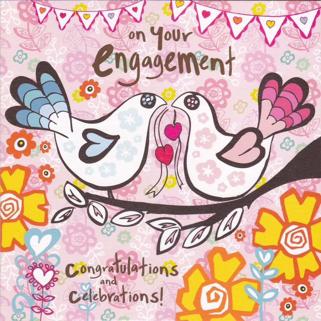 Congratulations & Celebrations On Your Engagement Card