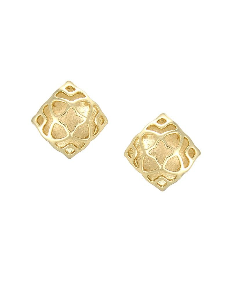 One of my everyday favorites! Tima Stud Earrings in Gold - Kendra ...