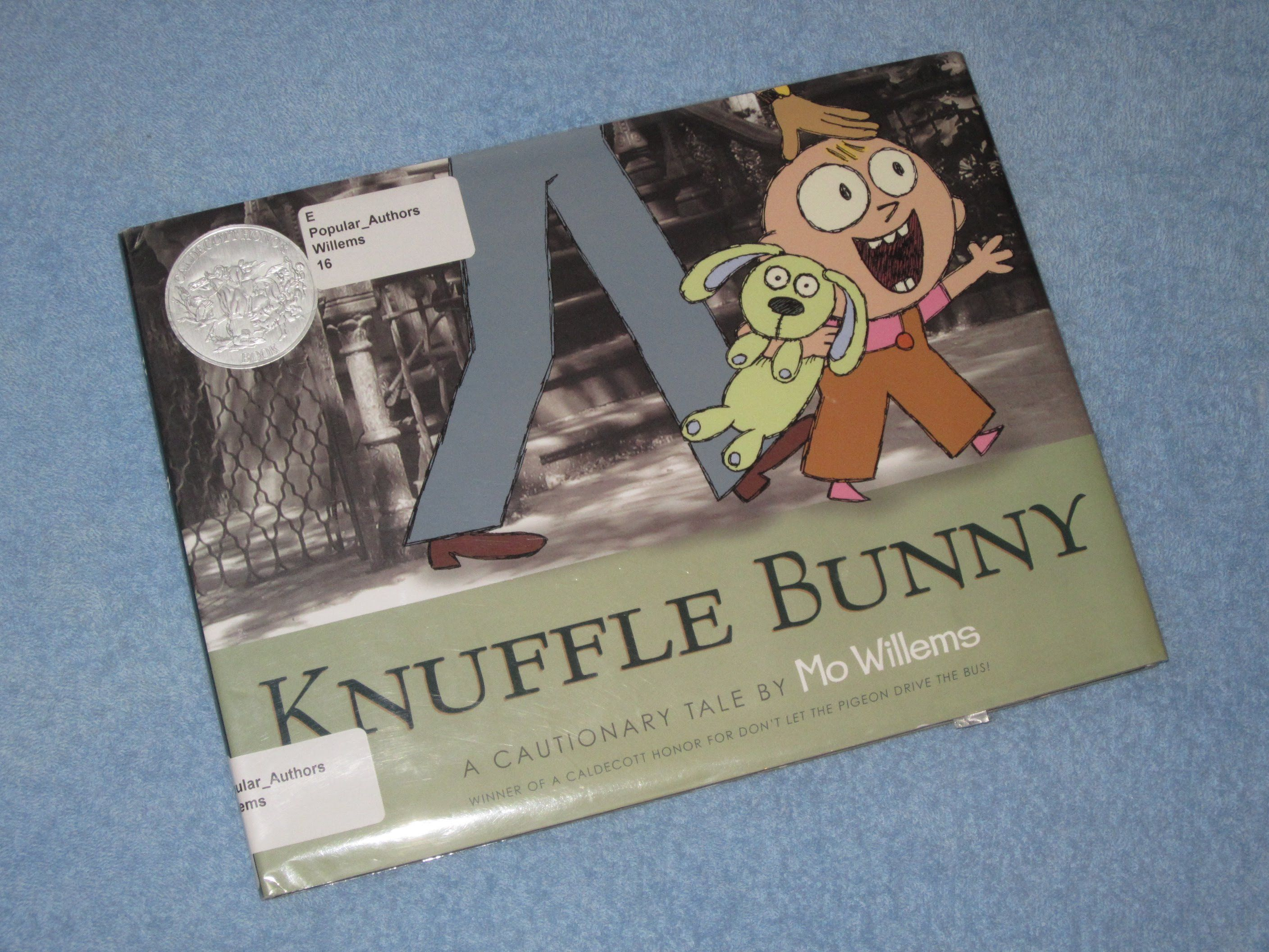Knuffle bunny childrens read aloud story book for kids by