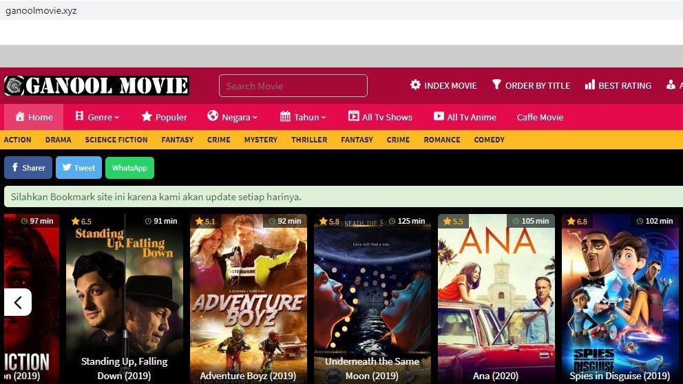 Download Film Ganool, Ini Link Terbarunya Maret 2020 di