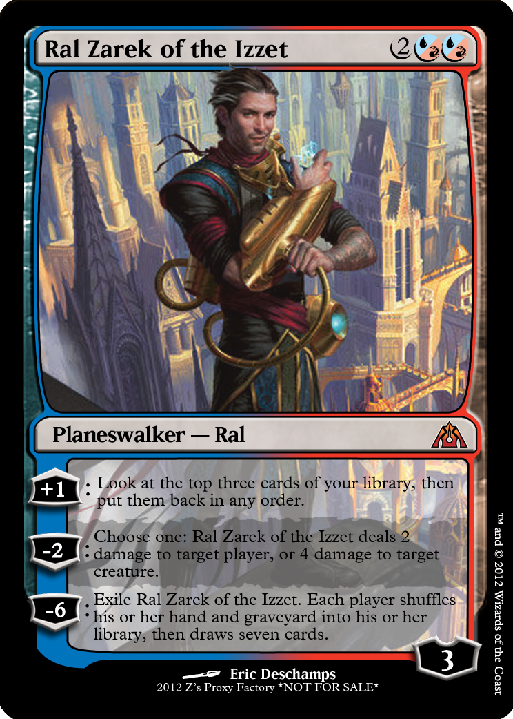 Dragon's Maze speculation : Ral Zarek of the Izzet. zeerbe ...