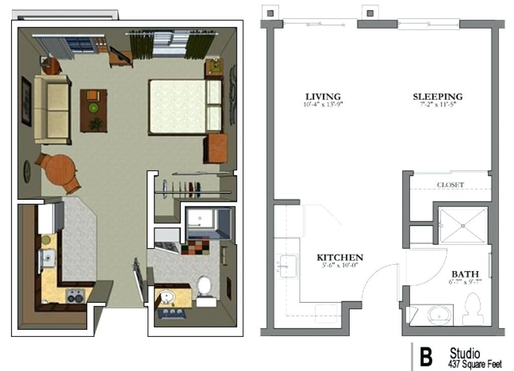 25 Small Bedroom Ideas For Maximizing Space And Style Studio Apartment Floor Plans Studio Floor Plans Small Apartment Plans