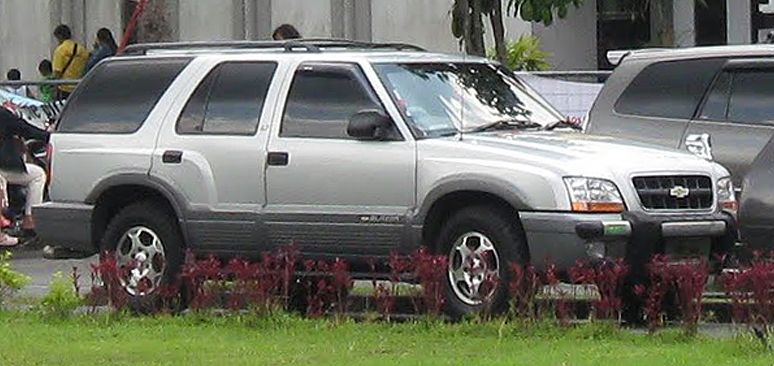 Chevy Blazer Indonesia Chevrolet S 10 Blazer