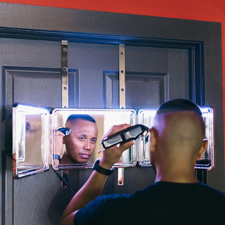 Pin On Self Haircut
