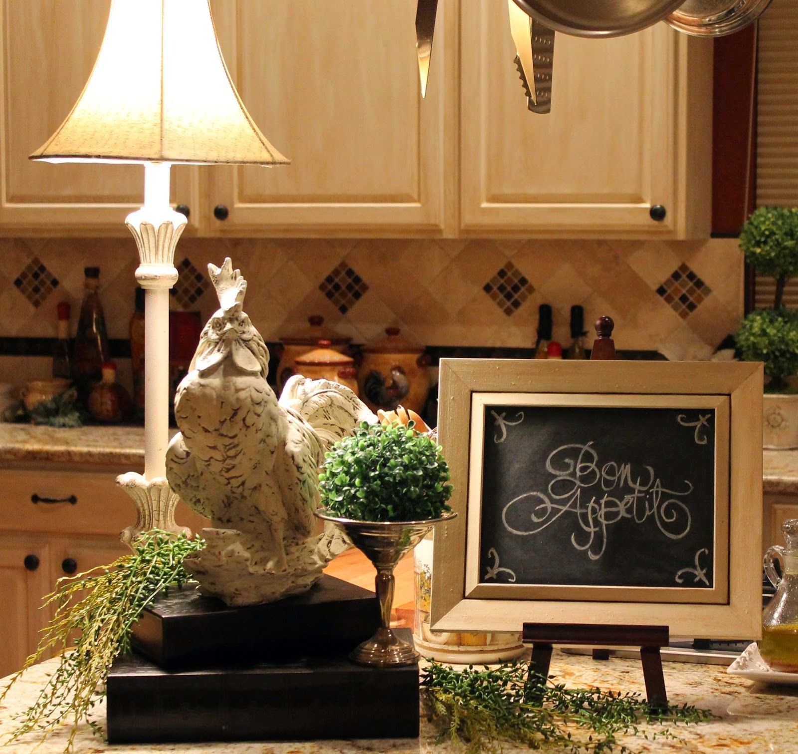 southern seazons little changes in the kitchen pinteres. Black Bedroom Furniture Sets. Home Design Ideas