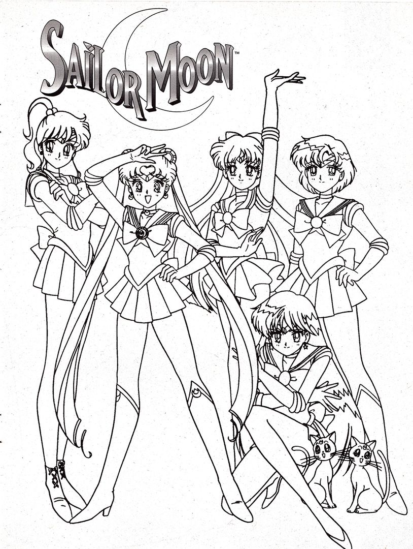Pin on Sailor Moon Coloring Pages
