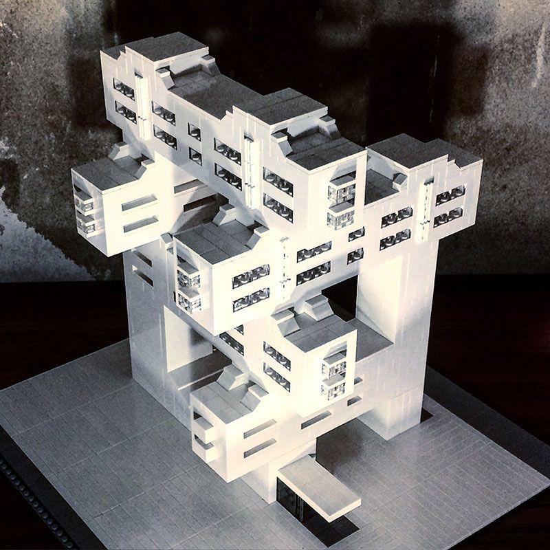 Modern Architecture Lego lego brutalist and modernist buildingsarndt schlaudraff