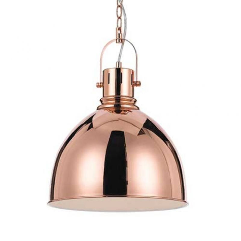 Dining lighting x2?  TELBIX MARKET INDUSTRIAL STYLE METAL PENDANT LIGHT COPPER MARKET PE31-CP