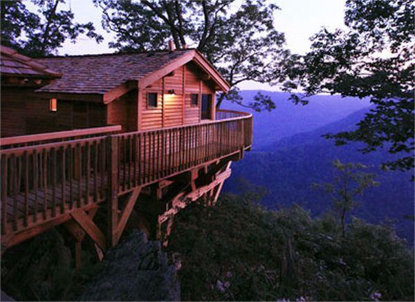 Tree House Blue Ridge Mountains Virginia