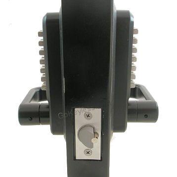 Lockey 2835dc Double Sided Mechanical Keyless Lever Lock