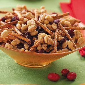 Maple Peanut Mix Recipe Appetizer recipes, Snacks