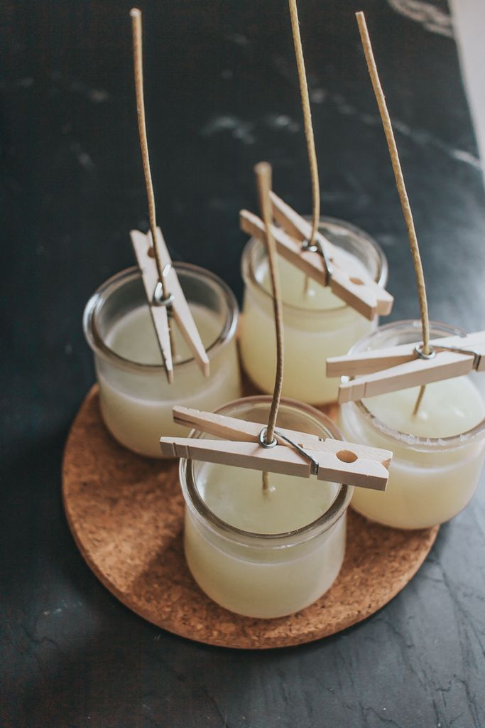 How to Make Soy Candles with Essential Oils - Video! #candles