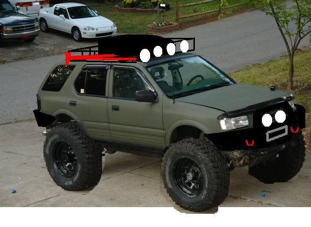 PlanetIsuzoo com (Isuzu SUV Club) • View topic - Body Lift