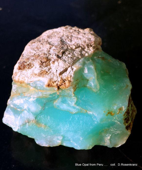 Blue Opal from Peru