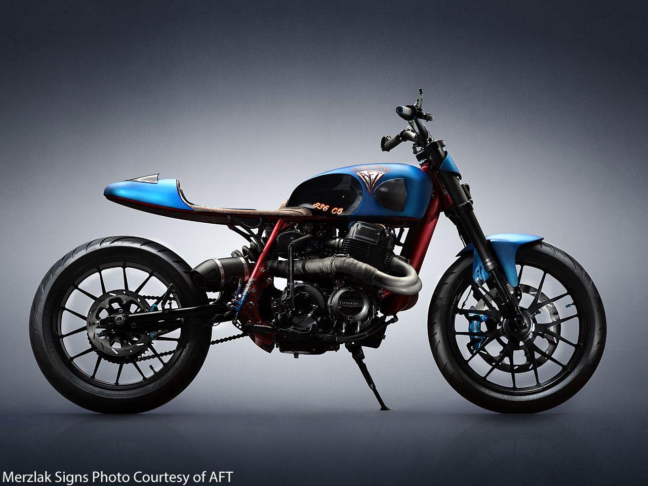 ϟ Hell Kustom ϟ: Honda VT750 By AFT Customs