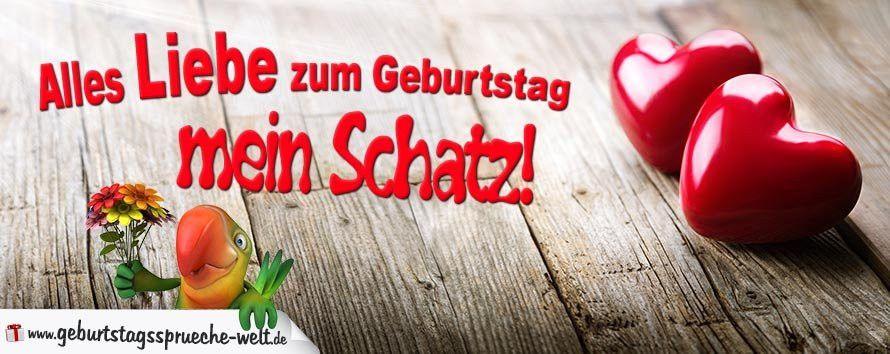 Alles Liebe Zum Geburtstag Mein Schatz 450 Die 20 Beliebtesten