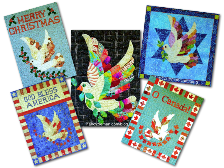 "This free quilt pattern is called, ""Love the Dove"".  So many different ways to use this dove.  This free quilt pattern is definitely easy to..."