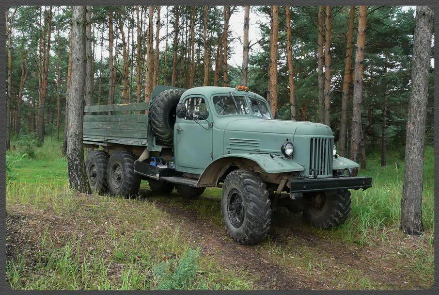 ЗИЛ-157. Фото. Картинки автомобиля. Фотографии советских ...