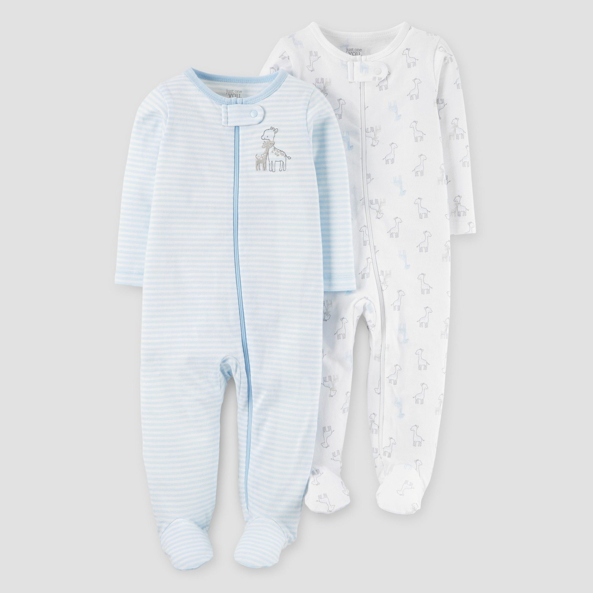 Baby Boys 2pk Giraffe Sleep N Play Just e You Made by Carter s
