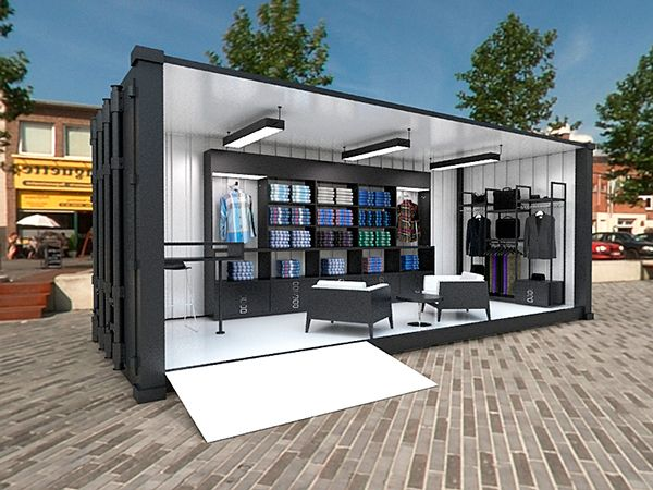 Ben Sherman Container Store on Behance                                                                                                                                                                                 Más