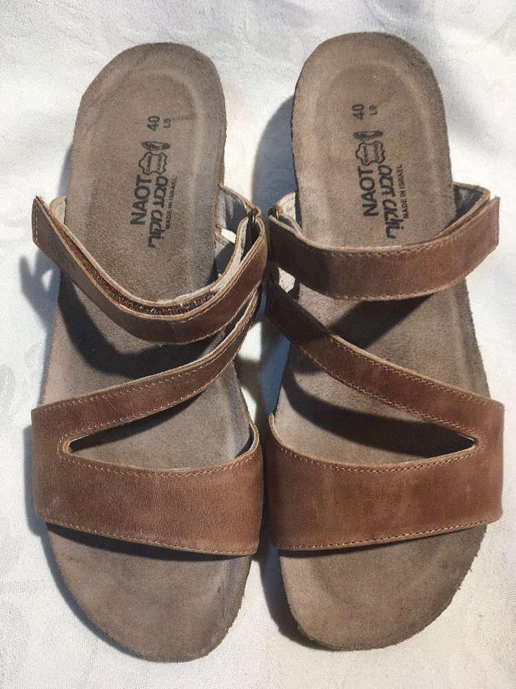 735cdcfe5498d3 NAOT Gabriela Womens NIB Brown Latte Leather Sandals 04016 Size 10 41   fashion  clothing  shoes  accessories  womensshoes  sandals (ebay lin…