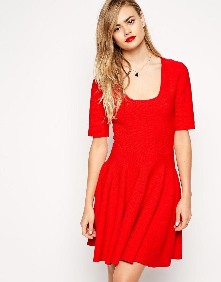 80f739095 :asos Tall Dresses, Girls Dresses, Sexy Dresses, Skater Dresses, Short  Sleeve