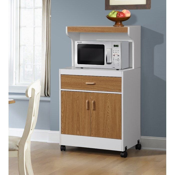 add a contemporary touch to your home with this andover mills microwave cart it has a durab on kitchen organization microwave id=25701